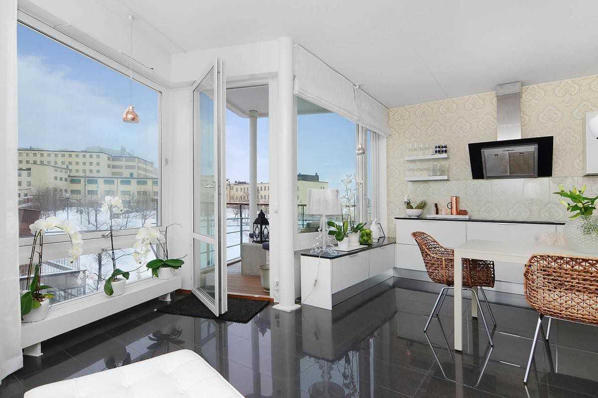 Остекление двухкомнатной квартиры