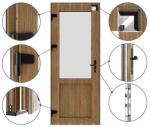 Комплектация межкомнатных дверей