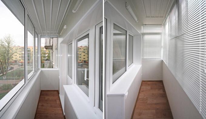 Ремонт балконов и лоджий от компании Okna-zel.ru
