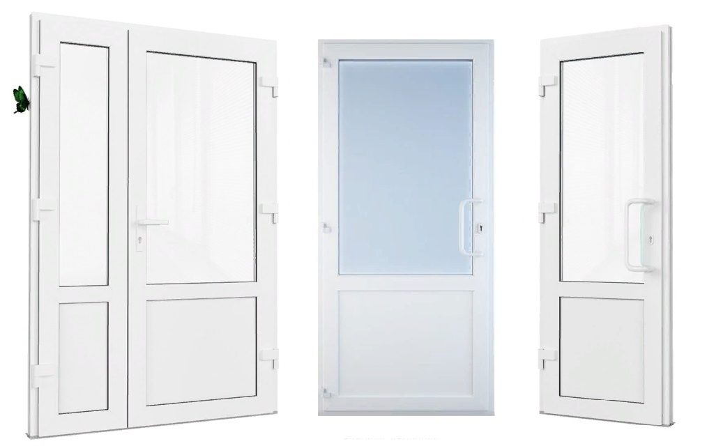 Особенности межкомнатных пластиковых дверей