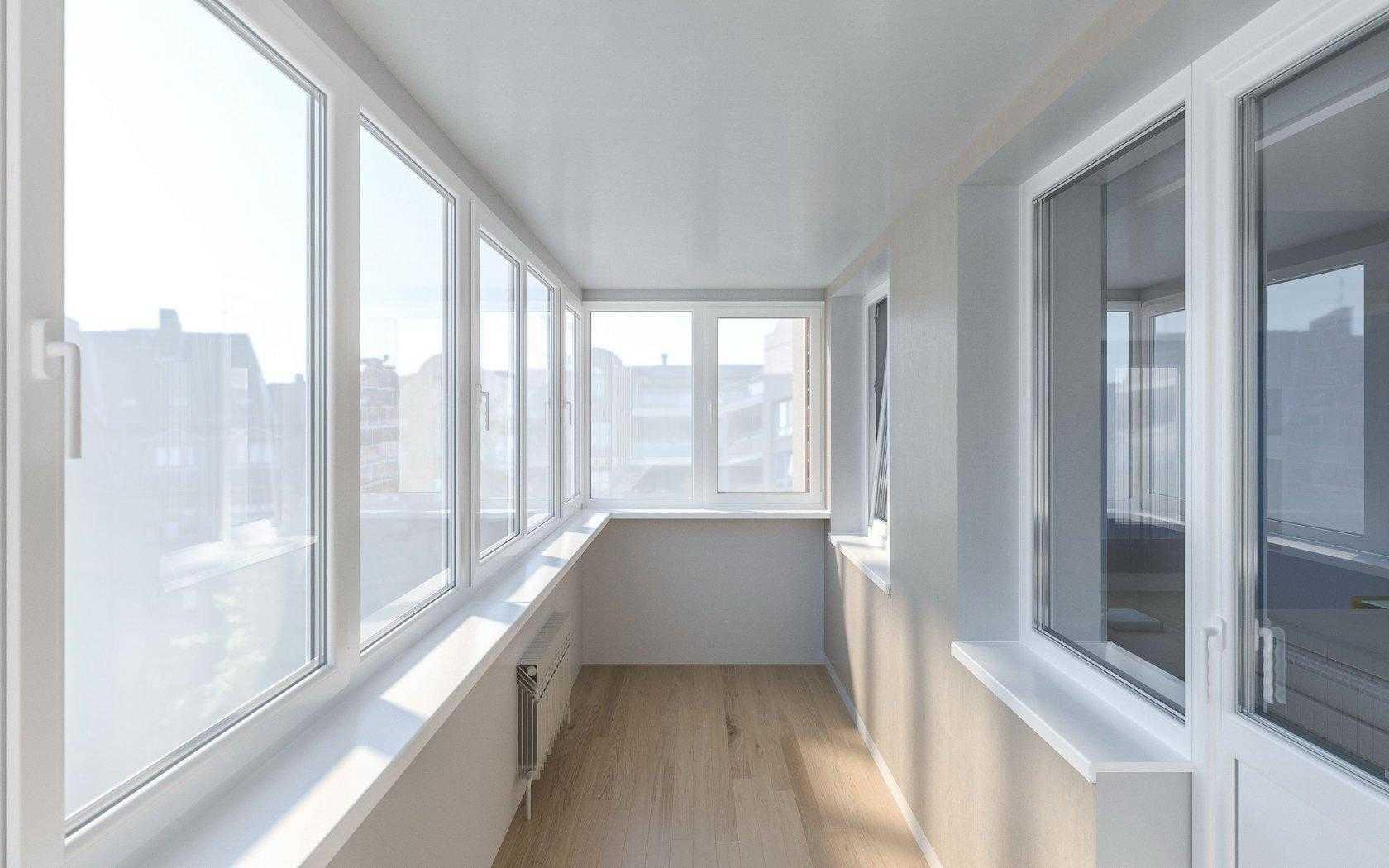 Теплое остекление балконов в Зеленограде
