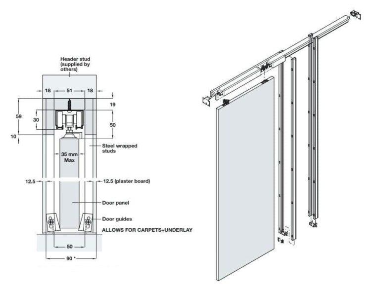 Раздвижные межкомнатные двери в Зеленограде