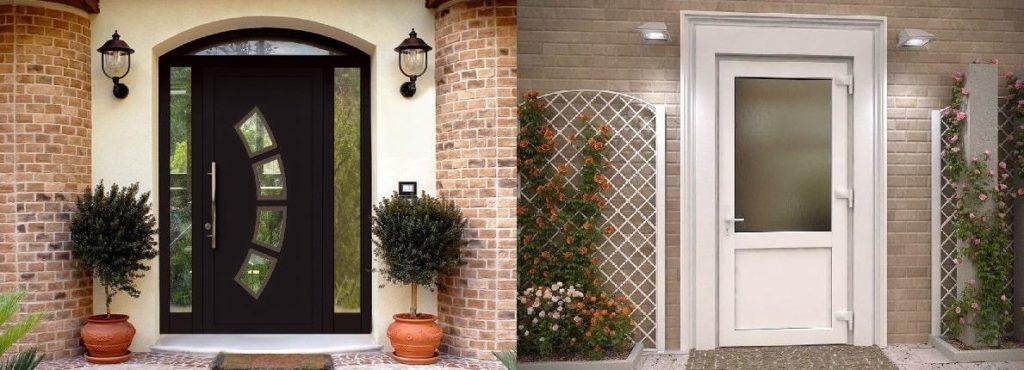 Пластиковые двери для дома и офиса