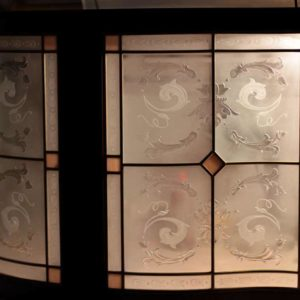 Декоративная раскладка на окне