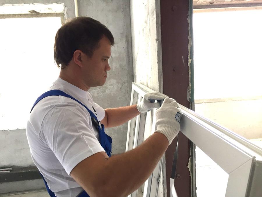 Подготовка к монтажу окна
