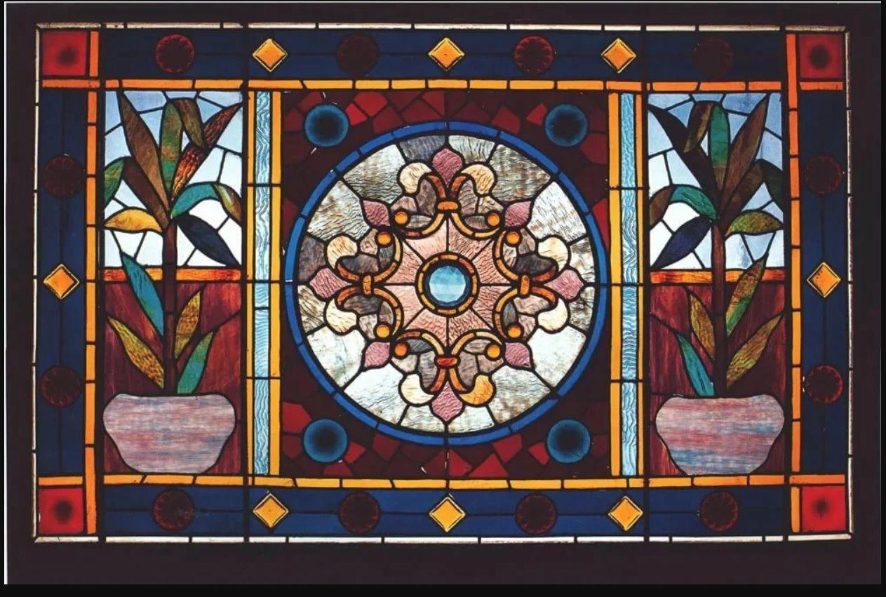 Витражные стекла для окон