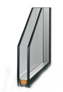 Однокамерныйшумоизоляционный стеклопакет