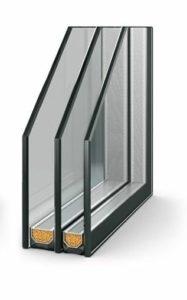 Двухкамерныйшумоизоляционный стеклопакет