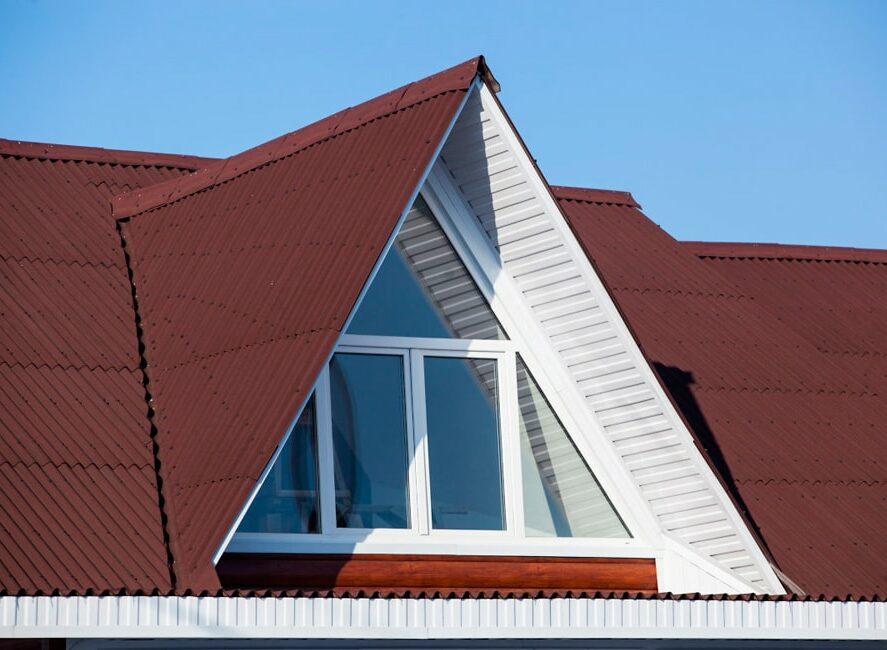 Треугольные пвх окна