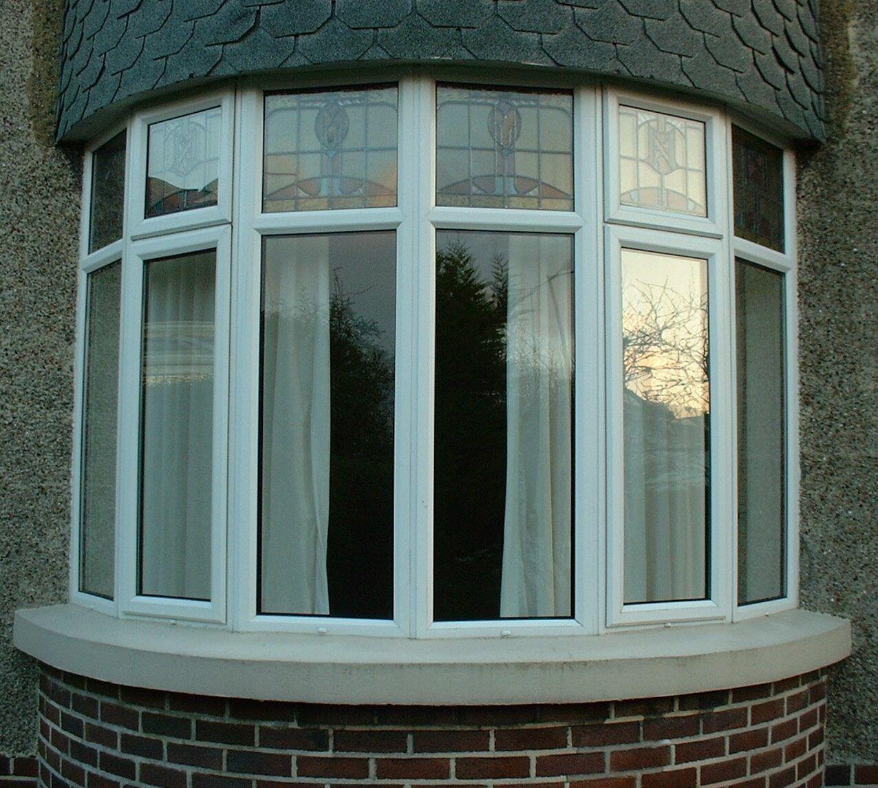 Эркерныепвх окна